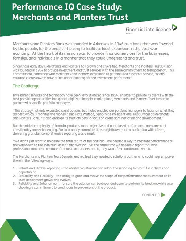 case study on merchant bank