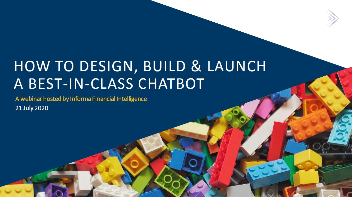 Webinar: How To Design, Build & Launch A Best-In-Class Chatbot