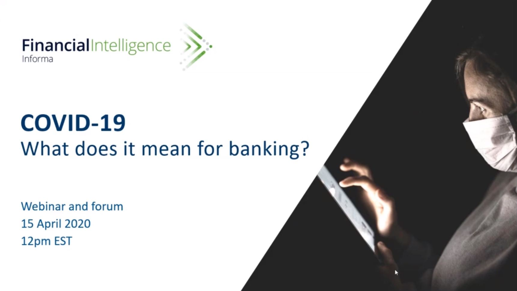 COVID-19 What does it mean for banking