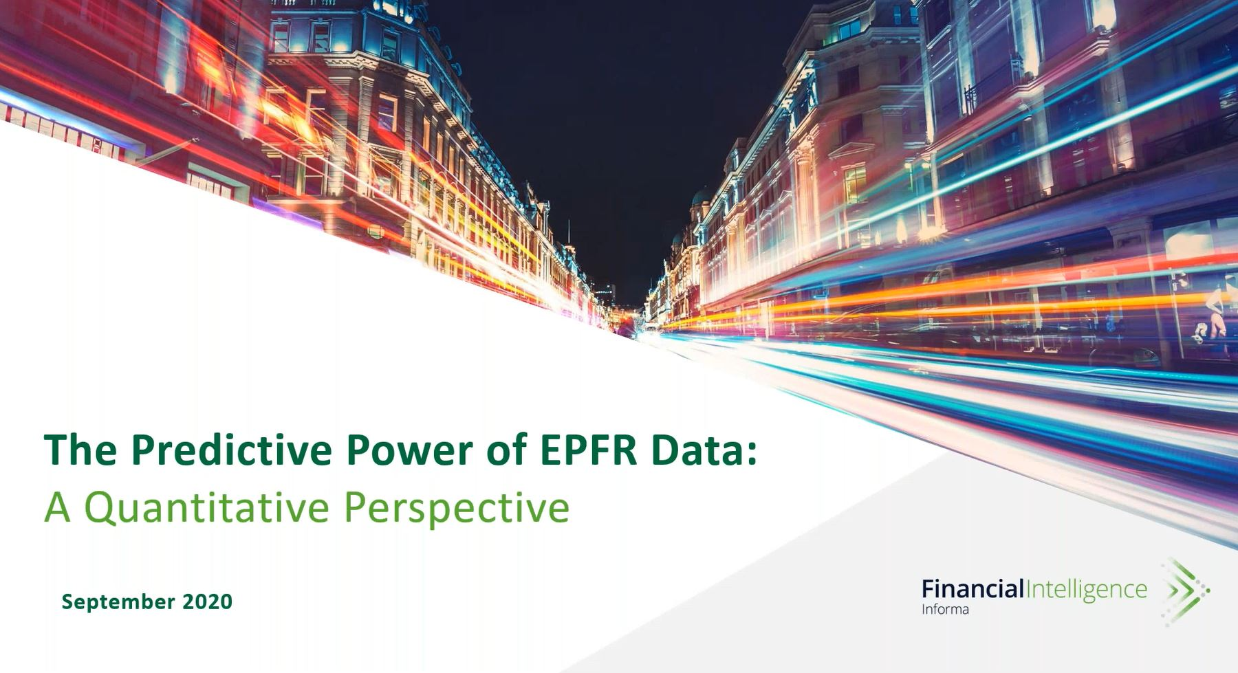 Predictive power of EPFR: a Quants perspective
