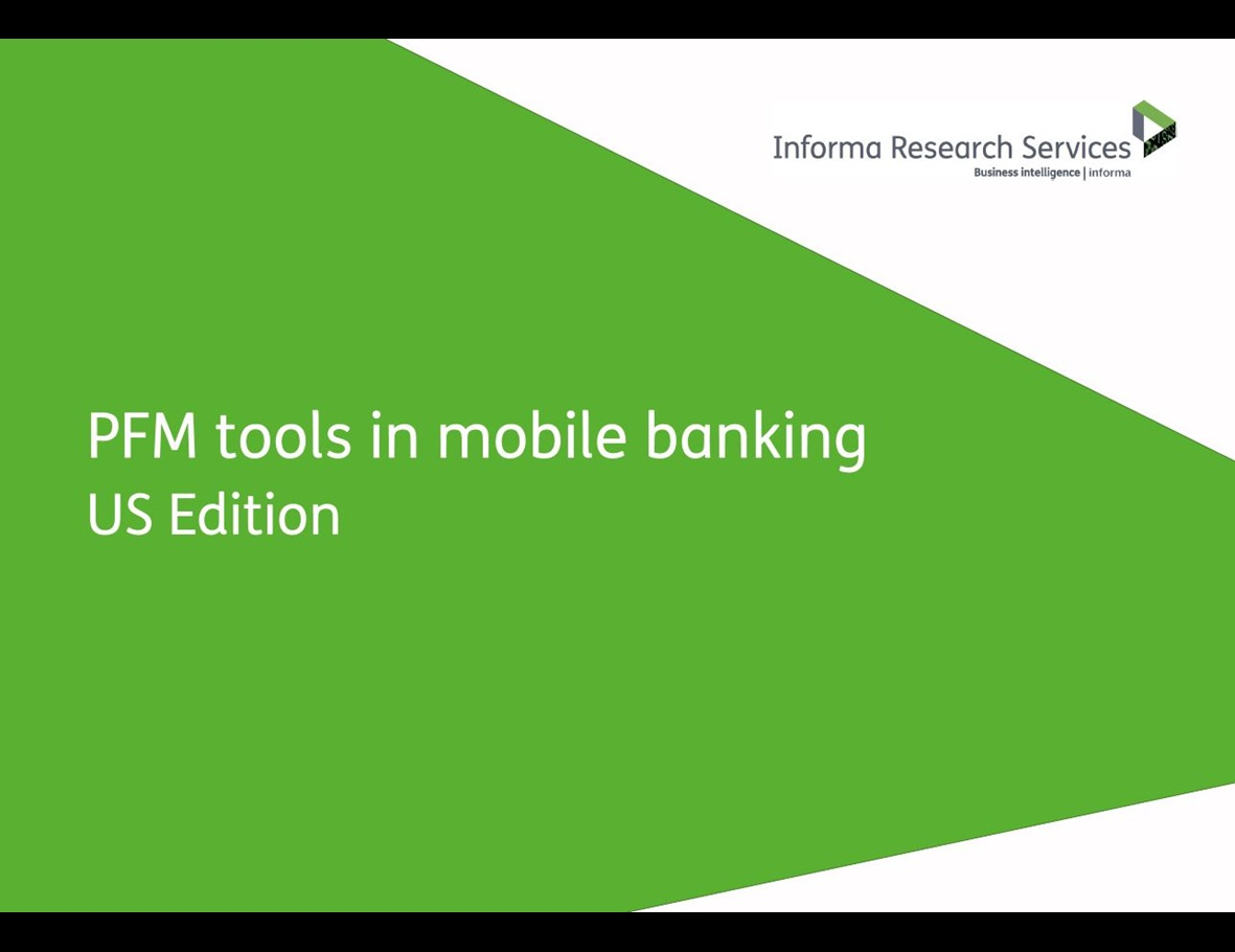 PFM tools in mobile banking