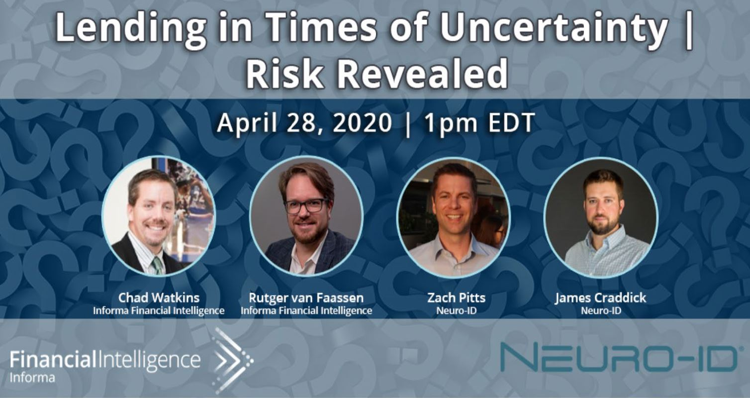 Lending in Times of Uncertainty | Risk Revealed