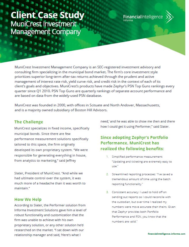MuniCrest Investment Management Company