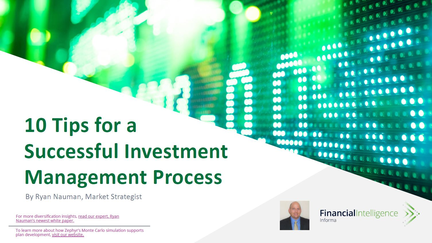 10 Tips for a Successful Investment Management Process