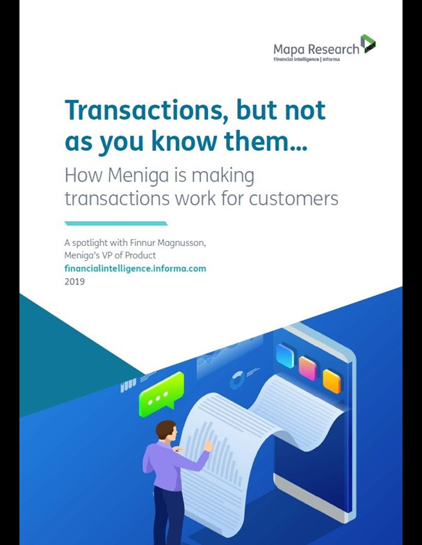 Transactions, but not as you know them...